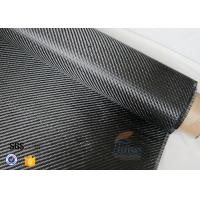 Cheap 3K 200g 0.3mm Carbon Fiber Fabric For Reinforcement , Heat Resistant Insulation Materials for sale