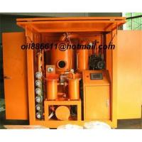 Quality (Automatic)Vacuum transformer oil purifiers, oil filtration unit, oil recycling machine wholesale