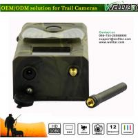 Quality MMS Game Camera With 12MP 1080P Video Low Power Alarm Night Vision, Best Wildlife Spying Trail Camera For Hunting Game wholesale