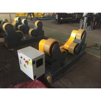 Buy cheap Self Aligned Pipe Turning Rolls Pipe Welding Rollers 350 X 120mm Rubber Wheels product