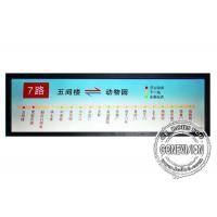 China 19.7 inch Stretched LCD Display Monitor HDMI input Ultra wide Bar Media Player on sale