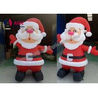 Quality 2M 3m 4m 5m Inflatable Holiday Decor / Inflatable Santa Claus For Christmas wholesale