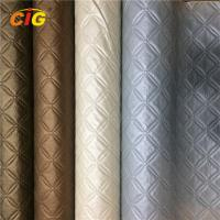 Quality Decoration Emboss And Pinted PVC Artificial Leather For Furniture Anti Mildew wholesale