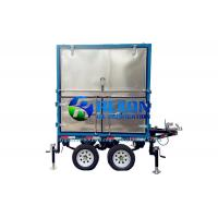 Quality Outdoor  4 Car Wheels Type Mobile Transformer Oil Purifier Machine wholesale