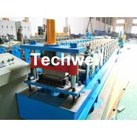 Quality HRC58-62 Hardness Standing Seaming Roofing Panel Machine For Making Roof Wall Cladding , Roofing Sheet wholesale