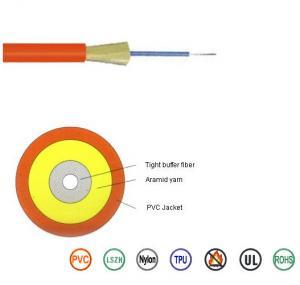 China Flame Retardant Single Mode Fiber Optic Cable G652D For Data Communication on sale