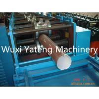 Buy cheap PPGI Material Rain Down Superior Pipe Roll Forming Machine Fly Saw Cutting Type product