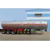 Quality Tri Axle Chemical Transport Semi Trailer Medium 46.6m3 Lightweight for sale