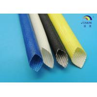 Multi Color Customized Acrylic Resin Coated Fiberglass Insulation Sleeving 1.5KV