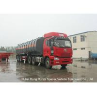 Quality 30000L -45000L Capacity Chemical Tanker Truck for Fluosilicic Acid / Hexafluorosilicic Acid wholesale