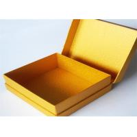 Quality Yellow Antique Lamination Printed Gift Boxes With lids For Clothes wholesale