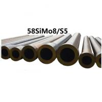 Quality Forged Round Tool Steel Bar Grade 58simo8 / S5 Material Max Length 11800mm wholesale
