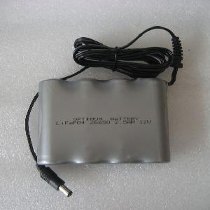 China 12V 2.5ah LiFePO4 Battery for Solar System/Flashlight on sale