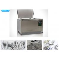 Quality High Effiency Ultrasonic Surgical Instrument Cleaner With Heater 88 Liter 1200W wholesale