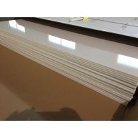 China Ivory White PVC Ceiling Panels Glossy Oil Protecting Plastic Ceiling Tiles 603mm x 1210mm on sale