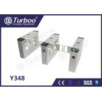 Cheap Swing Barrier Gate / Access Control Turnstile Gate High Brightness Indicator for sale
