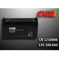 Quality Sealed CB121000B 12V 100Ah Rechargeable Lead Acid Battery Power Back up Application wholesale