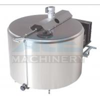Cheap 1000litres Sanitary Milk Cooling Tank 5000L Stainless Steel Milk Refrigeration Tanks Price WITH CIP for sale