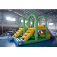 Quality Supply Water Park Inflatable Aqua Slide Floating Water Tower For Lake wholesale