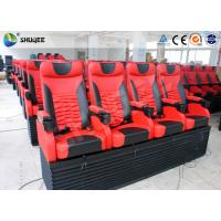 Quality Pneumatic 4D Movie Theater With Motion 4D Chair For Futuristic Cinema wholesale