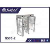 Quality Pedestrian Full Height Turnstile High Revolving Door Running Stably Without Noise wholesale