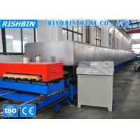 Quality 60 KW Discontinuous Polyurethane Sandwich Panel Production Line For Cooling Room wholesale