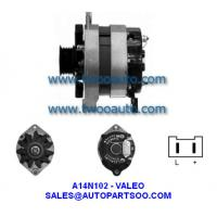 Buy cheap 7700730365 A14N102 A14N74 NA315 - VALEO Alternator 12V 90A Alternadores from wholesalers