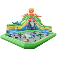 China Children Water Park Inflatable Slip And Slide Water Park For Business Rental on sale