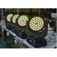 Quality 4 in 1 10W With Zoom LED Moving Head Wash Light AC110-240V 36Bulbs wholesale