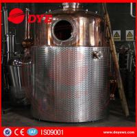 Quality SS Commercial Distilling Equipment Rum Vodka Whiskey Brandy Distillery Equipment wholesale