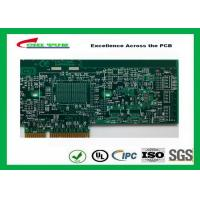 Quality Printed Circuit Board Double Sided PCB 6 Layer Lead Free HASL + Gold Finger wholesale
