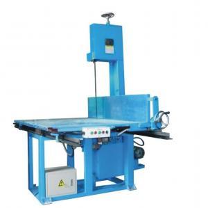 Quality High Accuracy Vertical Sponge Foam Cutting CNC Machine For Special Shape Slicing Foam wholesale
