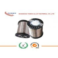 Quality 0.6mm CuNi30Mn Copper Nickel Alloy Wire , Copper Nickel Strip for Thermal Overload Relay wholesale