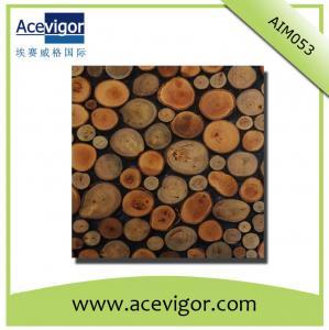 Quality Random arrange wood mosaic wall tiles wholesale