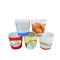 Quality Fast Food Custom Popcorn Bucket Full Colour Print With Logo Custom wholesale