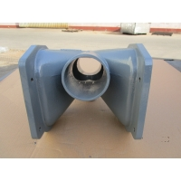 China Sandblasting OEM ASTM Ductile Iron Pipe Fittings on sale