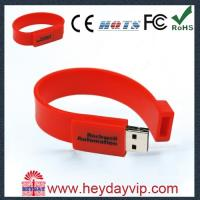 Quality USB factory outlets Cheap 64MB - 64GB Silicone Bracelet Usb 2.0 usb wristband flash drive wholesale