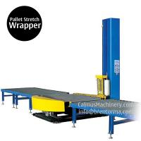 Quality Small-Footprint Online Pallet Wrapping Machine Turntable Stretch Wrapper wholesale