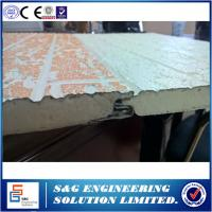 Quality Galvanized Plate PU Sandwich Panel Production Line Metal Panel Material wholesale