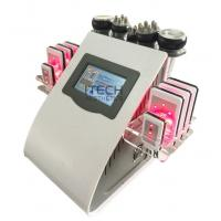 Quality 6 In 1 Lipo Laser + Cavitation + RF + Vacuum / RF Cavitation Vacuum Lipolaser Slimming Machine wholesale