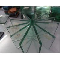 Quality Flat Glass Building Material Indoor Toughened Glass Panels Heat - Resistant wholesale