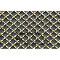 Cheap Flat Wire Square Wire Mesh for Decorative/Flat Wire Woven Mesh/Decorative for sale