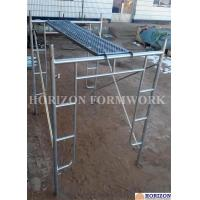 Quality Open End Frame Scaffolding System of Height 1930mm with Steel Stairs wholesale