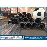 China 65FT Anti-corrosive Polygonal Steel Metal Utility Poles for Electric Power Line on sale