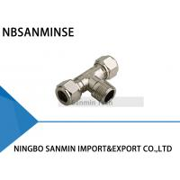 China Standard BSPT ( R ) Thread Pneumatic Parts Tube Fittings Air Fitting Sanmin on sale