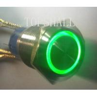 China 19mm anti-vandal switch/vandal resistant switch/vandal proof switch/maintain switch/self-lock switch on sale