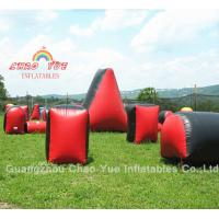 Quality Inflatables Paintball Bunker Field with Air Pump, Paintballs Wholesale wholesale