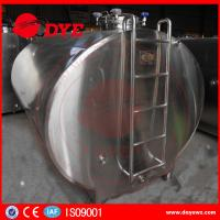 Quality Food grade Road Milk Transportation Tank milk cooling tank Semi - Automatic wholesale
