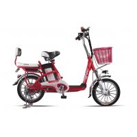 Quality Lady , Students Lithium Bicycle Small Electric Bikes With Removable Battery Box wholesale