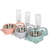 China Safefy Pet Food Feeder Automatic High Strength PP Material With Non - Slip Mat on sale